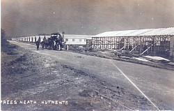 WW1 Training camp under construction