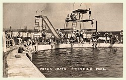 Prees Heath Swimming Pool c1930
