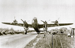 WW2 Stirling on the A49